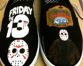 Friday the 13th (Jason Voorhees) inspired shoes