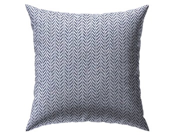 The Gage: Heavyweight Herringbone Tweed Accent Pillow