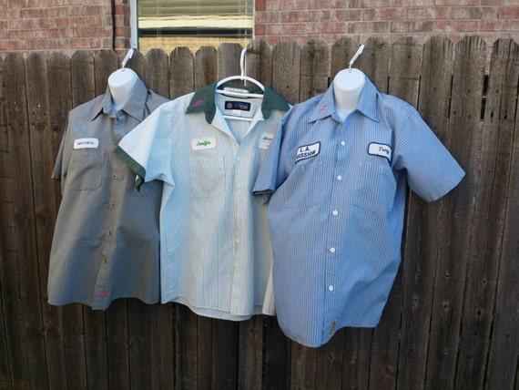 Vintage Uniform Work Shirt