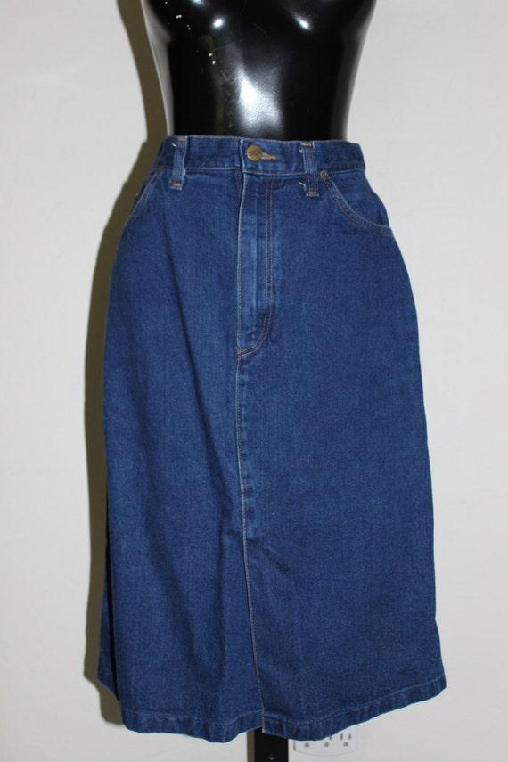 wrangler denim skirt high waisted wrangler jean skirt denim