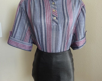 """Vintage Blouse Made In The 1970's In USA By 'Maggie Sweet' - Chest Size 50"""""""