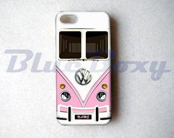 Mini Bus Pink iPhone 6 Case, iPhone 6s, iPhone 6 Plus, iPhone 6s Plus, iPhone 5, iPhone 5s, iPhone 4/4s Case, Phone Cover