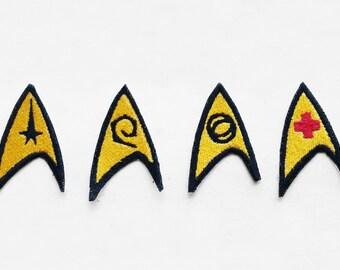 Star Trek Original Series Iron On Emblem