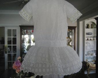 antique girl's dress