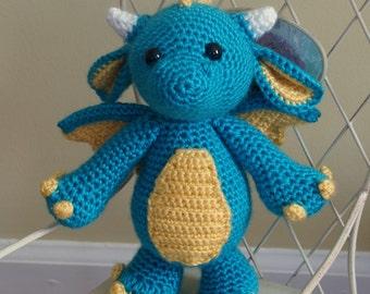 Cute Stuffed Dragon