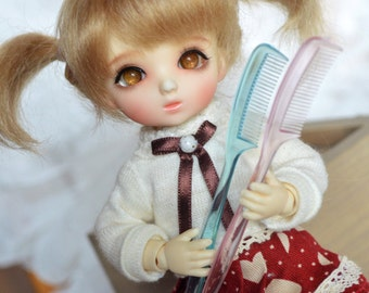 bjd doll little comb for lati yellow FL pukifee 2 colors
