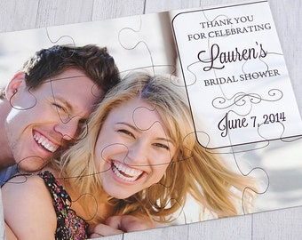 Personalized Puzzle Favor - Save the Date- Wedding Favor | Party Favor