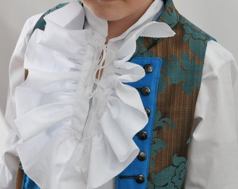 Kids Pirate Shirt - Jack Sparrows Ruffle Shirt for Pirate Outfit