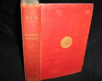 Kim-Rudyard Kipling First Edition