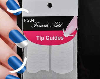 2 Nail Tip Guides For French Nail Art /FG04/