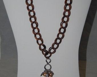Antique Copper Chain Necklace