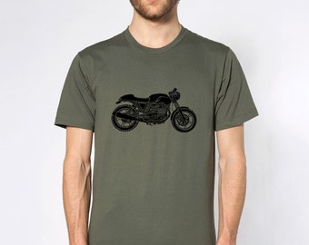 KillerBeeMoto: Limited Release Veloce Custom Competizione Italian Modern V-Twin Cafe Racer Custom Short And Long Sleeve Motorcycle Shirts