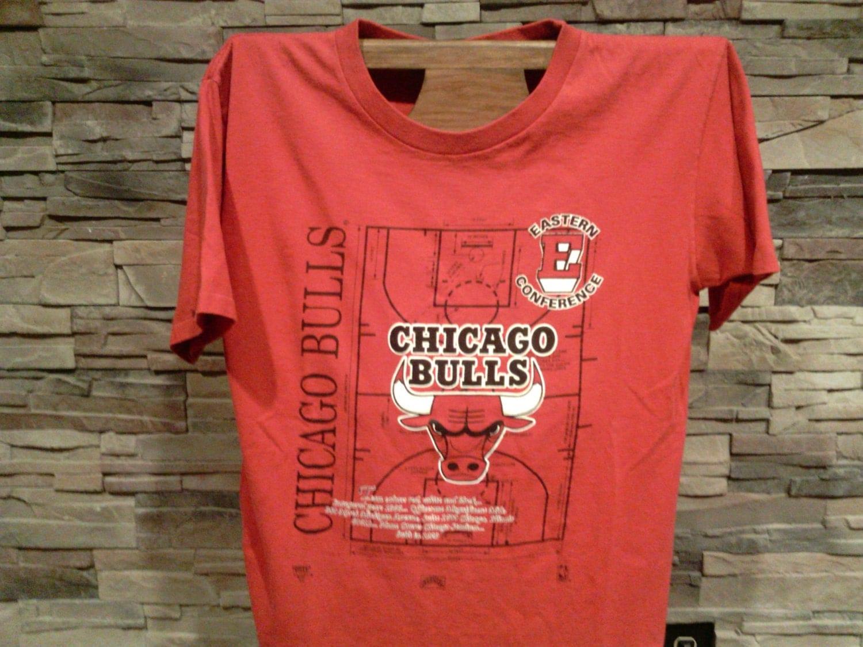 vintage chicago bulls t shirt. Black Bedroom Furniture Sets. Home Design Ideas