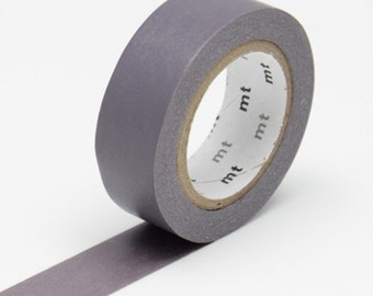 MT Ash Grey Washi Tape - 'haimurasaki' - MT Masking Tape