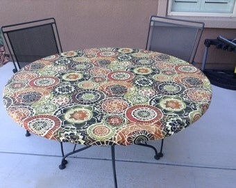 Fitted Tablecloth Table Cover Elastic By Brittaleighdesigns