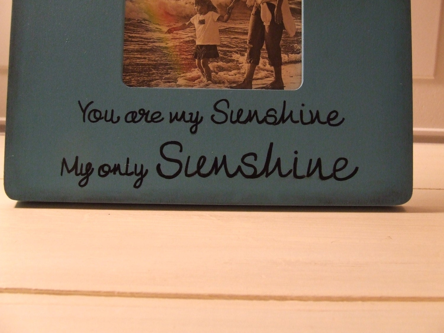 mom you are my sunshine my only sunshine mothers day frames blue and yellow frame for mommy gift from daughter gift from son children - You Are My Sunshine Frame