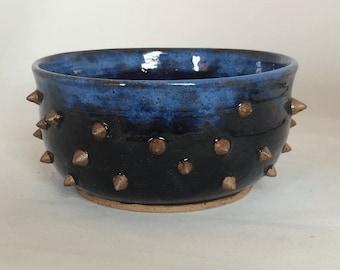 Blue-black Sea Urchin Planter