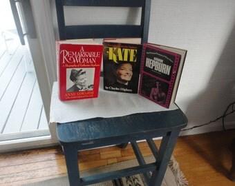 3 Katherine Hepburns books hardcovers