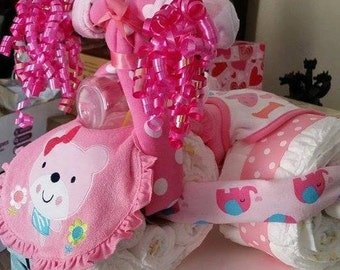 Custom Made Diaper Cakes