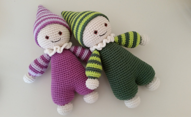 Amigurumi Cuddly Baby : Puppe Baby Schmusepuppe Amigurumi Cuddly by UnderTheFamilyTree