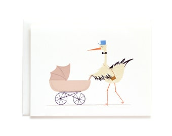 Baby Delivery Card