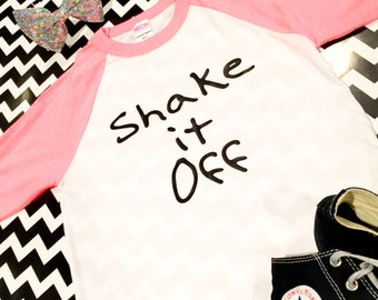 Shake It Off Children's Raglan T-Shirt