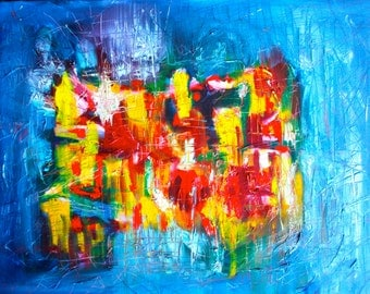 fine art print, poster, wall art, abstract painting, giclee print, room decor, oil painting
