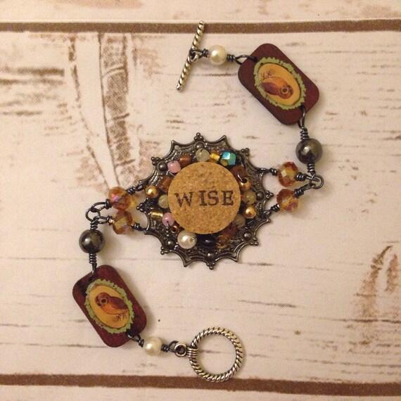 Cork Beads: Wine Cork Bracelet By TrueVineGifts On Etsy