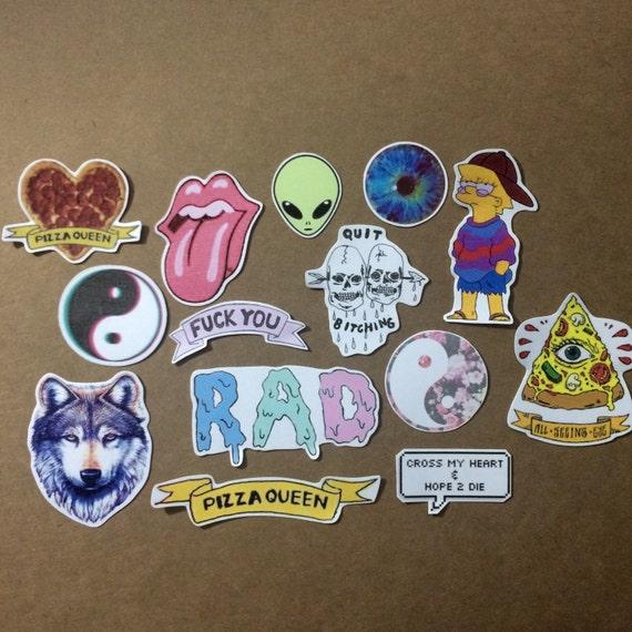 Grunge Stickers