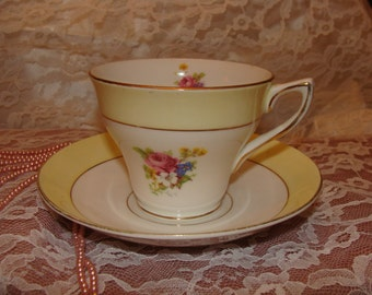 Retro Rosina Bone China made in England