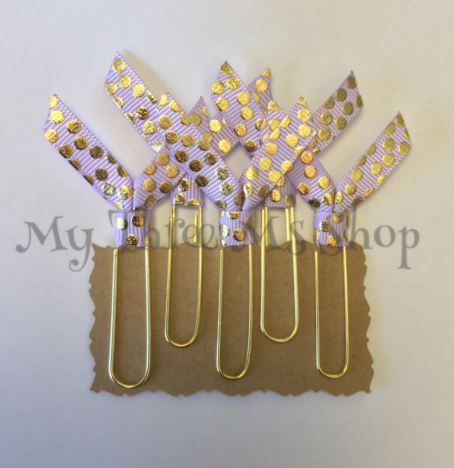 gold lavender party favors baby shower decor by mythreemsshop