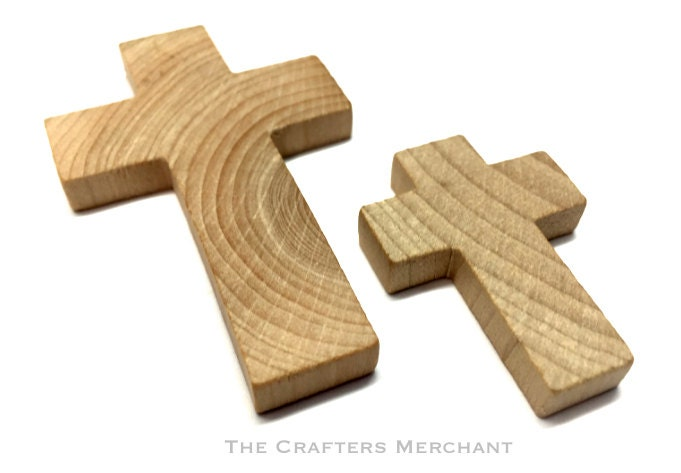 Small Wooden Craft Crosses