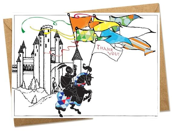 Digital Knight Thank You card