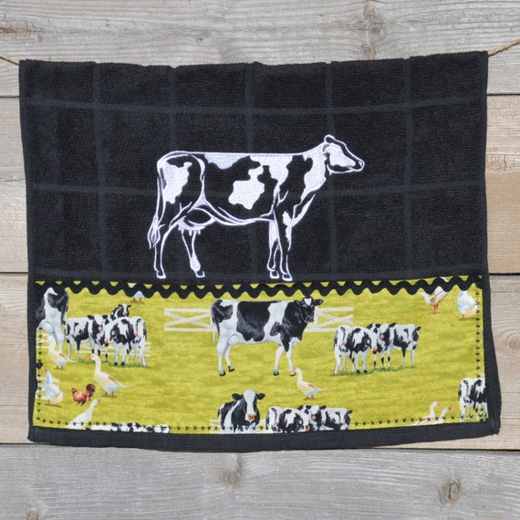 CUTE COW KITCHEN Towel/kitchen Decor By Logtreasures On Etsy