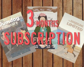 Cinema Lover Subscription ! 3 Months !