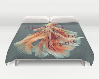 Fish in the Sea Duvet Cover