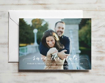 Classic Save the Date | Photo Save the Date Card