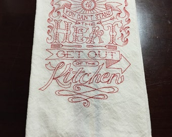 Sassy Kitchen Towel - Ready to Ship