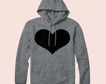 Heart - Pullover Hoodie, Sweatshirt, Graphic