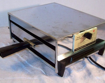 Vintage Toaster Table Broiler Oven Toastmaster Model 5206