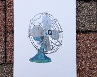 Kenmore Fan by Andrea Holmes 8x10 Giclee Canvas Print