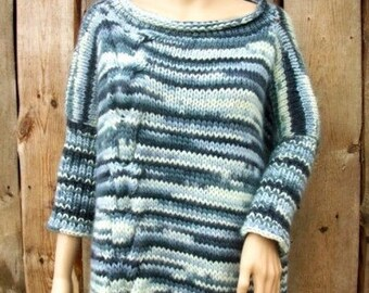 Hand knitted sweater. Women. Sweater.