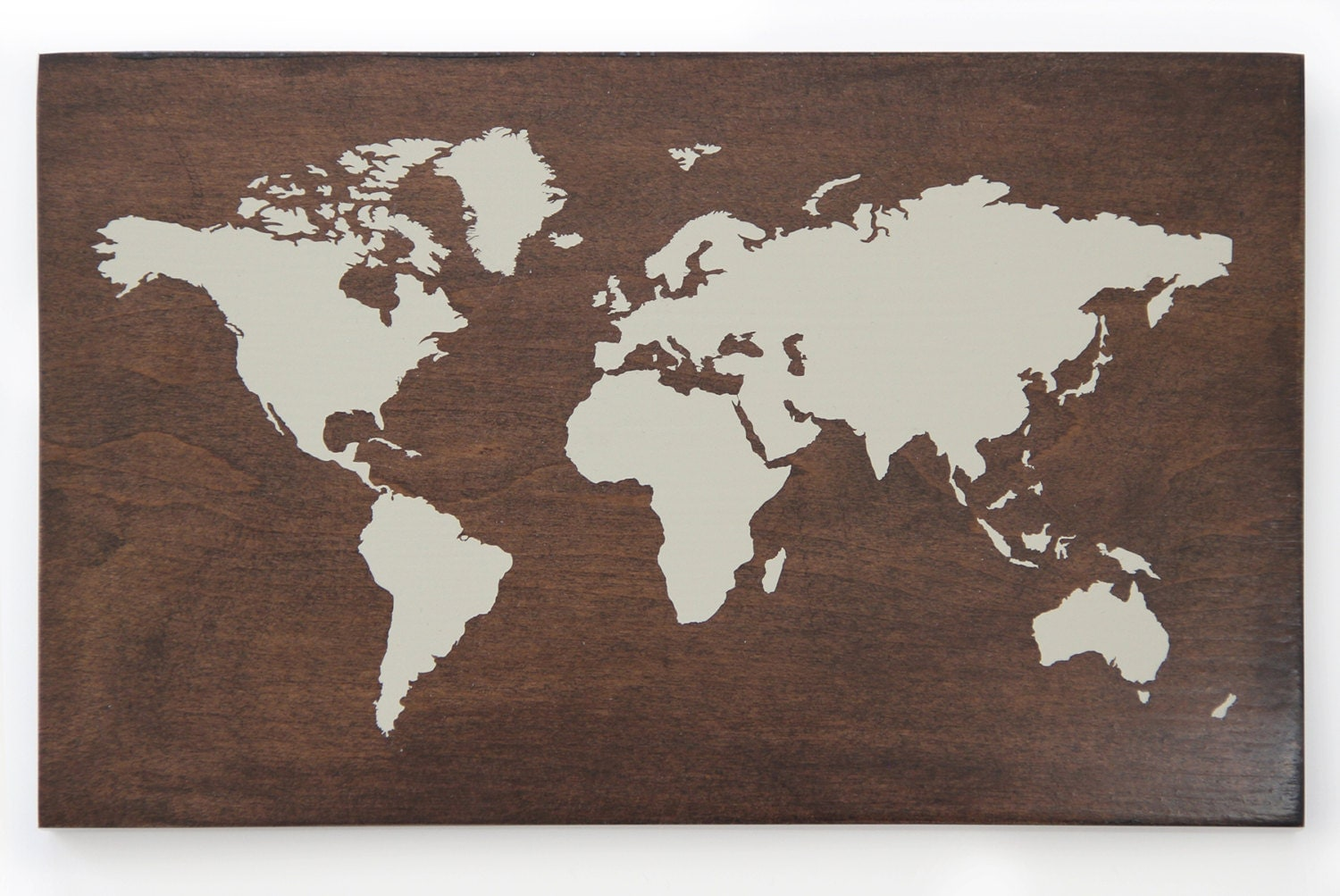 Decorative World Map By Blissnotions On Etsy