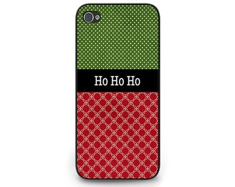 Christmas iPhone 6 or iPhone 5s Phone Case Ho Ho Ho iPhone 5c or iPhone 4s Christmas Case