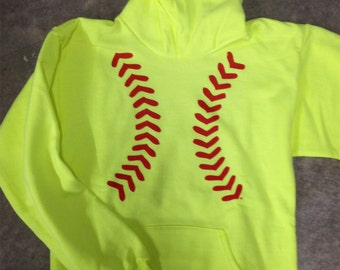 Softball Stitches Hoodie