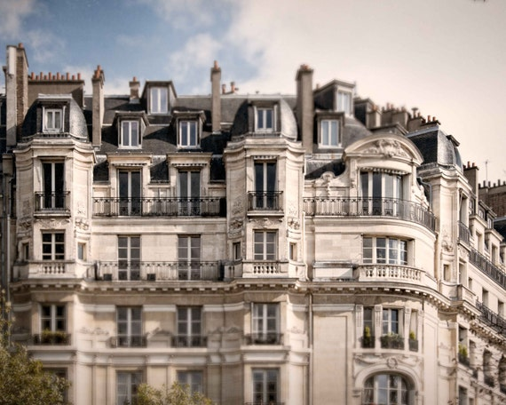 Apartment Building In Paris Photograph Golden Triangle French