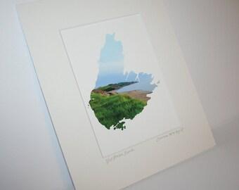West Mabou Beach – Cape Breton Island coastline giclee art print (photo), Nova Scotia, fine art, home decor, ocean, sunset