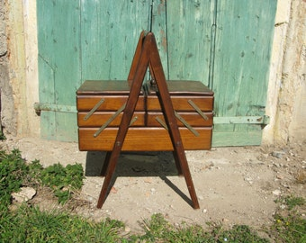 Wooden Storage sewing box