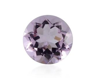 Pink Amethyst Round Cut Loose Gemstone 1A Quality 9mm TGW 2.20 cts.
