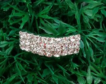 20 PCS Wholesale Bridal Invitation Supplies,Wedding Buckles,Rhinestone Buckle Card Supplies DIY Invitations Crystal Ribbon Slides,Buckle A18